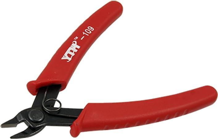"""6/"""" 45# Flush Cut Side Cutters Pince Pince Coupe PVC poignée Coupe-fil rouge"""