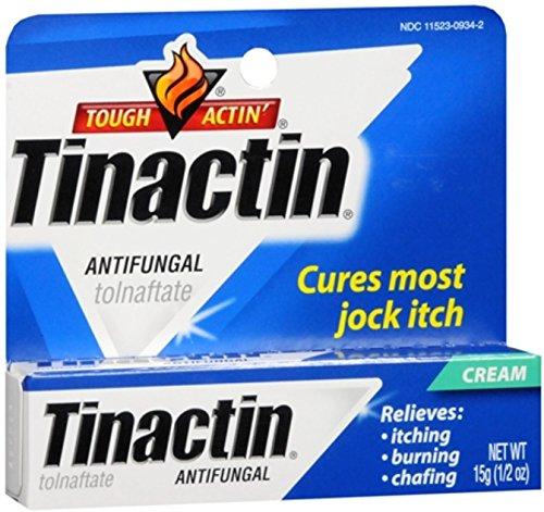 Tinactin Antifungal Cream (Jock-Itch) 0.50 oz (Pack of 2)