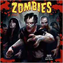 Zombies 2012 Wall (calendar): James Ryman: 9781416287223