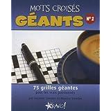 Mots croisés géants - N° 2 - 75 grilles géantes