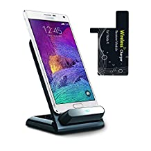 Kosee Qi Smart Wireless Charging Cradle Stand for Samsung Galaxy Note 4