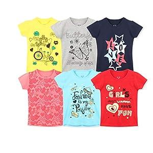 Elk Girls' T-Shirt (Pack of...