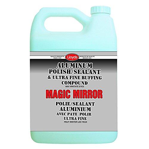 Magic Mirror - Aluminum Polish and Sealant, 77904, 4 L jug (1.06 gal) by Magic Mirror