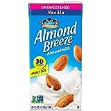 Almond Breeze Almond Milk, Unsweetened Vanilla, 64 Ounce