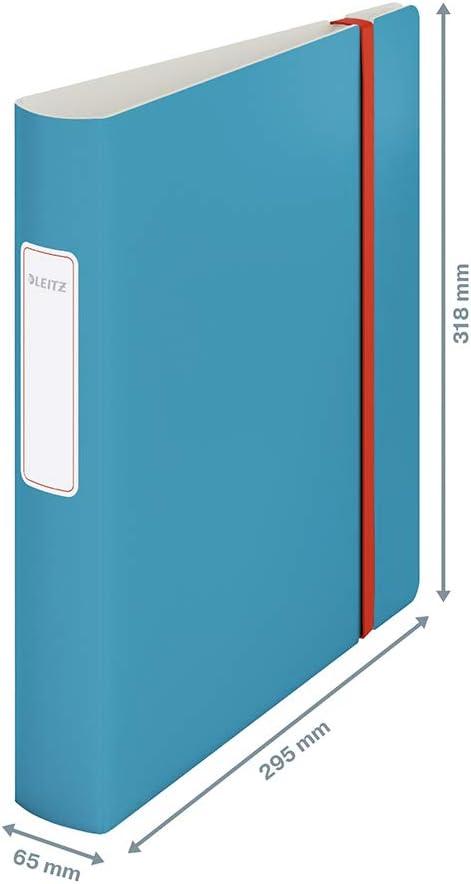 Esselte Leitz Active WOW colores surtidos Clasificador lomo fino 1 unidad A4 fabricado en espuma sint/ética