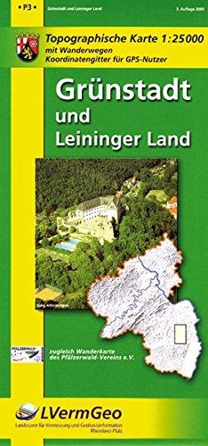 Grünstadt und Leininger Land (W) (Freizeitkarten Rheinland-Pfalz 1:15000 /1:25000)