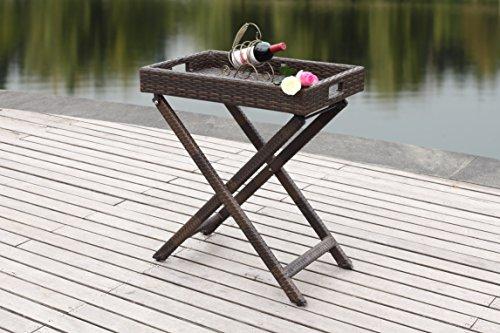 Safavieh Patio Collection Bardia Tray Table price