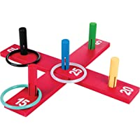 Carlu Brinquedos - Jogo de Argolas, 4+ Anos, Color Multicolorido, 1094