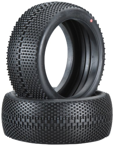 Hot Bodies 67781 Megabite Tire Pink Buggy (1/8 Scale) (Set of 2) (1/8 Scale Buggy Tire)