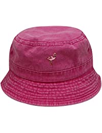 6546fdf0b00 Bd2020 Flamingo Washed Cotton Bucket Hats - 13 Colors · City Hunter