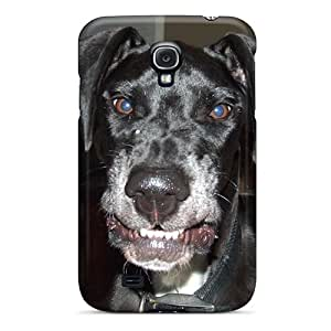Galaxy S4 Case Slim [ultra Fit] Even Dogs Smile Protective Case Cover