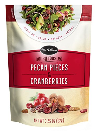 Mrs. Cubbison's Honey Roasted Pecan Pieces & Cranberries (Pack of 9) by Mrs. Cubbison's (Image #1)