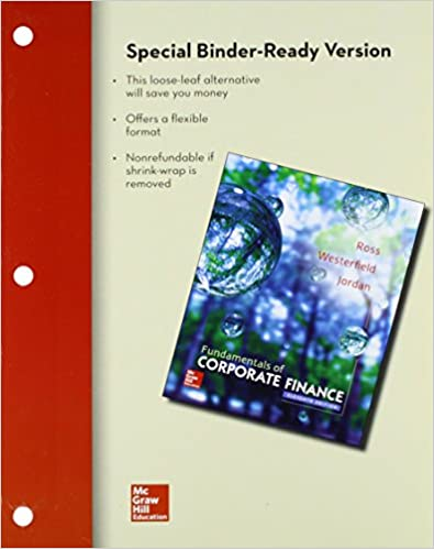 Loose leaf fundamentals of corporate finance with connect access loose leaf fundamentals of corporate finance with connect access card 11th edition fandeluxe Image collections