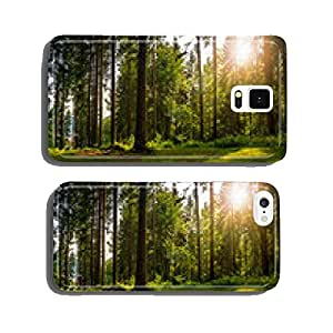 forest glade in shade of the trees in sunlight cell phone cover case iPhone6 Plus