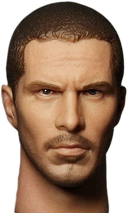 Handsome Men Tough Guy HiPlay 1//6 Scale Male Figure Head Sculpt Doll Head for 12 inch Action Figure HS044 A