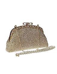 Pulama Crystal Clutch Women's Rhinestone Purses Wedding Party Evening Handbag