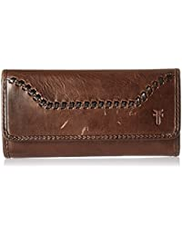 Melissa Continental Whipstitch Snap Wallet