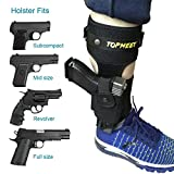 topmeet Ankle Gun Holster for Concealed