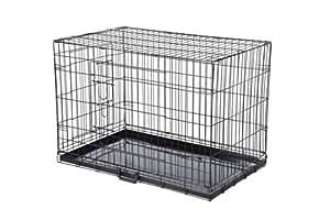 Confidence Pet 2 Door Dog Cage Crate - Medium
