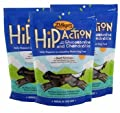 3 Packs Zuke's Hip Action with Glucosamine and Chondroitin BEEF (3 lb) by Zuke's