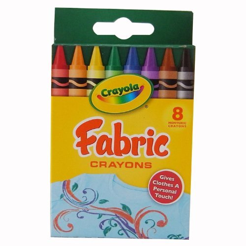 Crayola Fabric Crayons 8/Pkg-Primary -