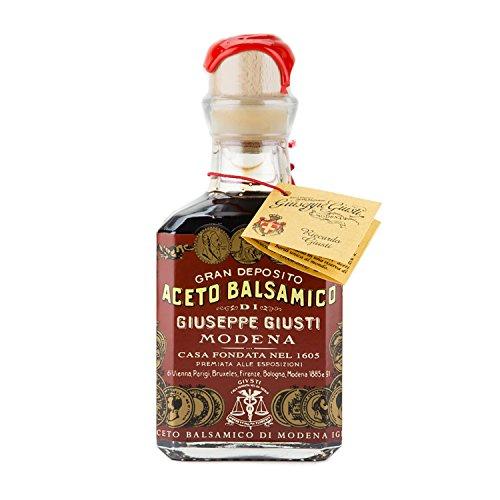 Balsamico Vinegar (Guiseppe Giusti - Gran Deposito Aceto Balsamico Di Giuseppe Giusti Moderna - Italian Balsamic Wine Vinegar - 8.45 fl.oz. (250ml))