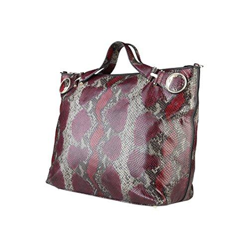 CAVALLI CLASS Shopping Bag, Donna Rosso/Grigio