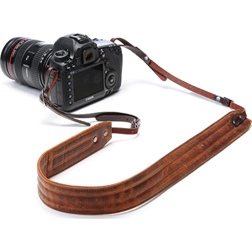ONA - The Presidio - Camera Strap - Antique Cognac Leather (ONA023LBR) by ONA
