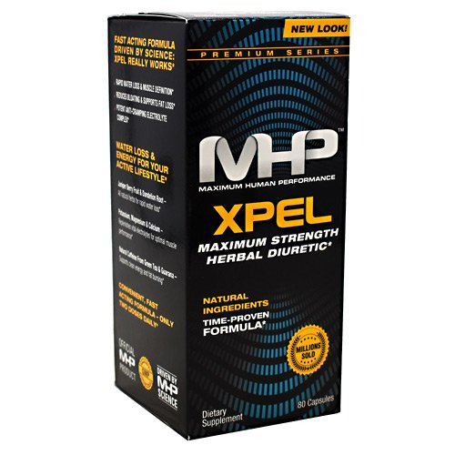 4 x MHP Xpel (4 bottles/320 capsules) (4 bottles (320 capsules)) by MHP