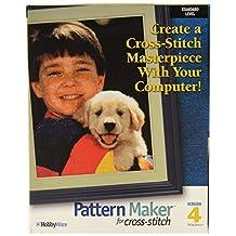 Hobbyware Pattern Maker Cross Stitch Software -Standard Version, Version 4.0