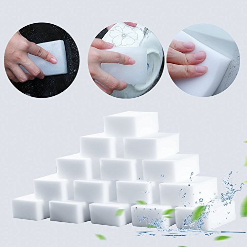 Smartrich 20 pcs Melamine Foam Magic Sponge Eraser Multi-functional Cleaning Cleaner Pad for Home Kitchen Bathroom