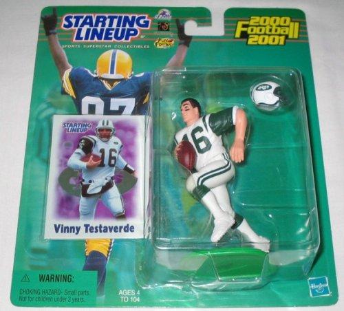 Vinny Testaverde Football (2000 Vinny Testaverde NFL Starting Lineup)