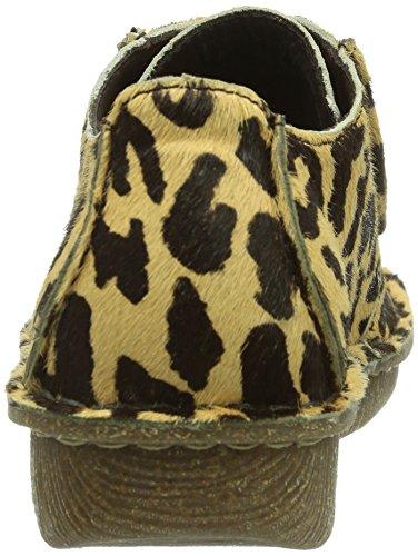 Clarks Damen Schnürer leopard 9 UK  Amazon.de  Schuhe   Handtaschen e3df35ca5f