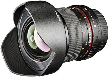 Walimex Pro 14 mm F/2.8 IF - Objetivo para cámara réflex Olympus ...