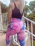 SEASUM Women's High Waist Yoga Pants Tummy Control