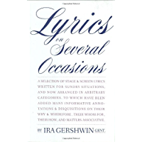 Lyrics on Several Occasions book cover