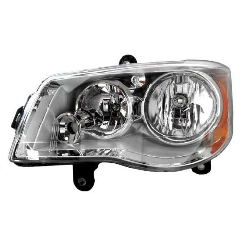 Chrysler Town & Country HID Headlight (HID Kit Not Included) Driver Side Headlamp