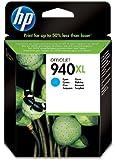HP C4907AE - Cartucho original Nº940XL, cian