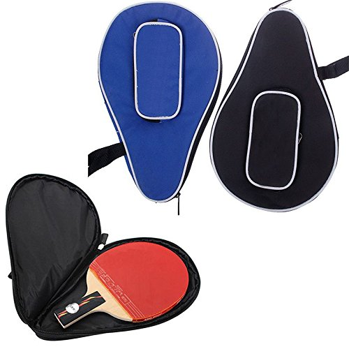 Zhuotop impermeabile in nylon per racchetta da ping pong pingpong Paddle bat case