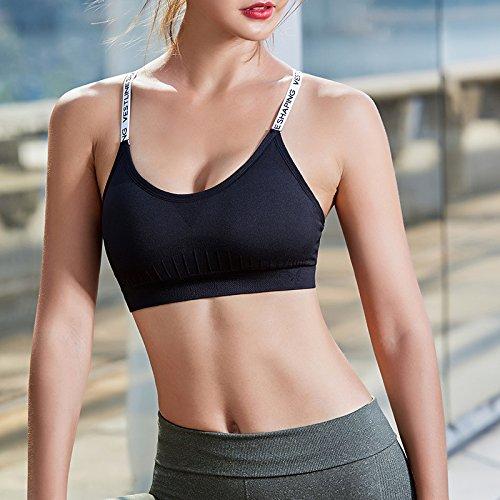 Yoga Bandoulière S Fitness Girl Soutien Shock Formation Style Zhudj Lettres Sport gorge De up Retour Mei Runner 5qaARg6wHx