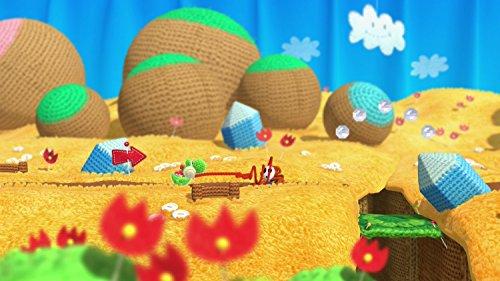 Yoshi Woolly World Bundle Green Yarn Yoshi amiibo - Wii U (Japanese version) by nintendo (Image #4)