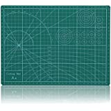 """Vankcp Cutting Mat,Self Healing Rotary Mat, 24""""x36"""" 18""""x24"""" 12""""x18"""" Professional Double-Sided Thick Non-Slip for Quilting, Sewing, Art Projects (Green, 12""""x 18"""")"""