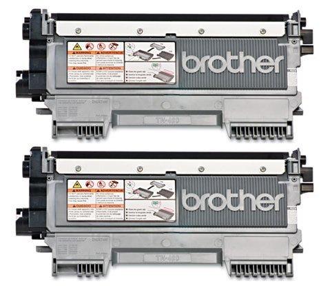 Genuine Brother TN420 (TN-420) Black Toner Cartridge 2-Pack