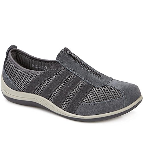 Pavers Casual Zip Up Trainers 310 512