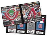 Arizona Diamondbacks Ticket Album, Holds 96 Tickets