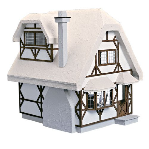 Corona Dollhouse Kit (Dollhouse Miniature The Aster Cottage Dollhouse by Corona)