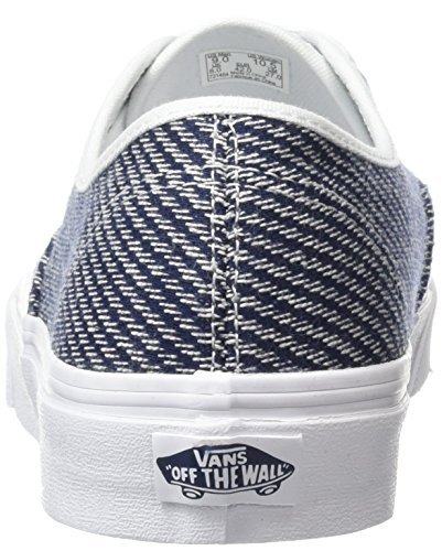Vans Unisex Authentic Skateschuh Navy / Truewhite