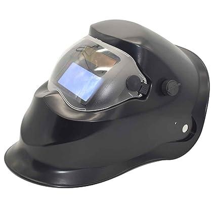 Mengonee Auto Solar soldadura de oscurecimiento Casco protector plástico PP soldadura eléctrica Soldadura máscara del soldador