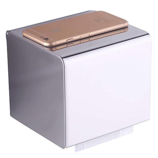 Anaz Caja de pañuelos Elegante Cubo de Acero Inoxidable Caja ...