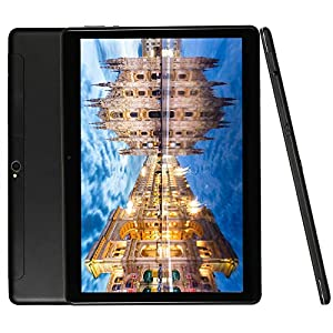 4G LTE Phablet 10 Inch Tablet Android 9.0 Deca-Core Processor 2.8GHZ 6GB+64GB 1920×1200 IPS HD Dual Camera Unlocked Dual SIM WiFi GPS Google Play